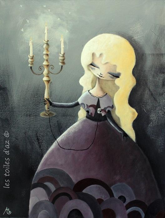 Le chandelier by lestoilesdaz