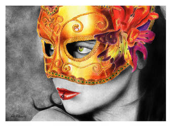 Mysterious masquerade by raulrk
