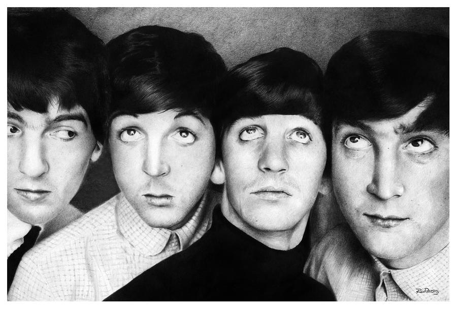 the beatles by raulrk