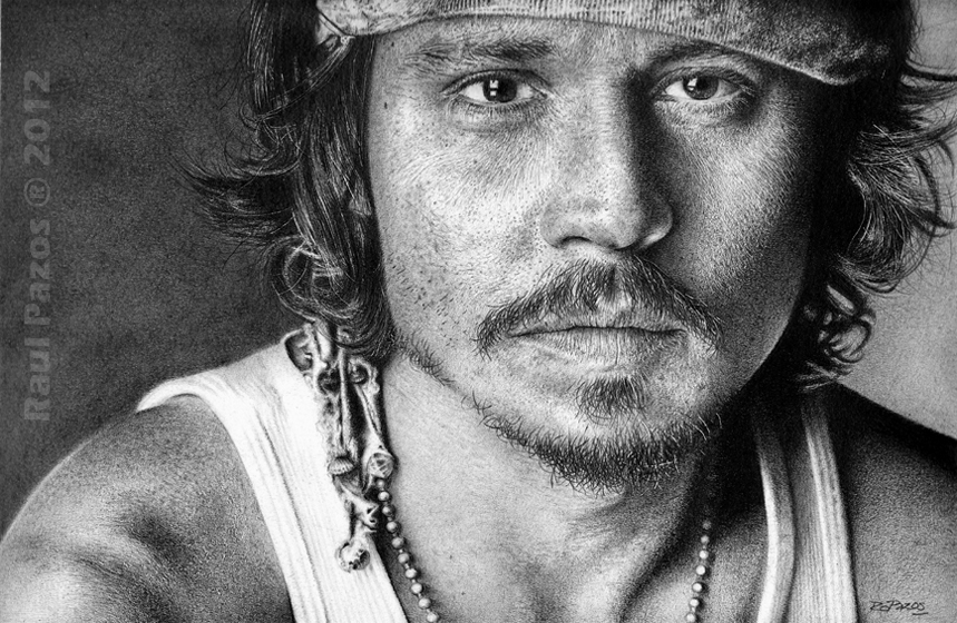 Johnny Depp by raulrk