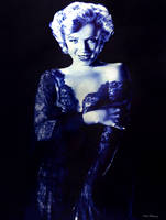 Monroe in blue by raulrk