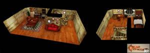 Chrono Trigger HD - Chronos House wip 03