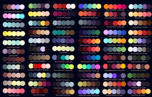 Colour Palettes No. 1 by Striped-Tie