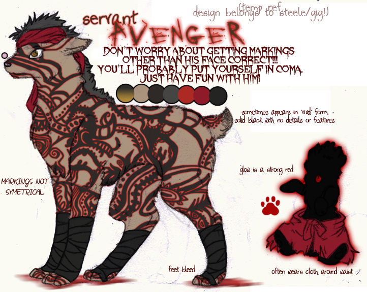 Avenger Dog Concept by Striped-Tie
