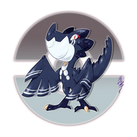 Dukoroc, the Thick Scale Fakemon by Aalacer
