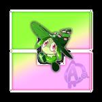 #001 Setagi, the Mage Fakemon