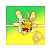 #015 Wassuzz, the Drone Fakemon by Aalacer