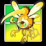 #016 Wasprizan, the Assault Wasp Fakemon
