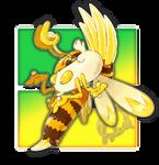 #017 Hivreigna, the Throne Fakemon