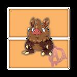 #032 Bororc, the Muddy Fakemon