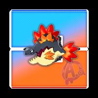 #034 Pyranha, the Heatscale Fakemon