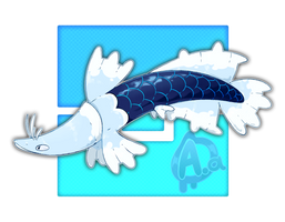 #037 Araplacier, the Coldscale Fakemon by Aalacer