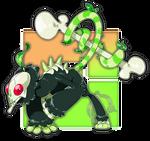 #039 Kinkeletal, the Growth Fakemon