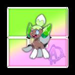 #087 Leafelf, the Forestling Fakemon