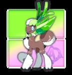 #088 Frondelf, the Forest Ranger Fakemon