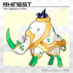 Rhinest, the Vigilance Fakemon