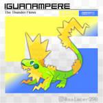 Iguanampere, the Thunder Fakemon