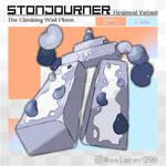 R. variant: Stonjourner, the Climbing Wall Pokemon