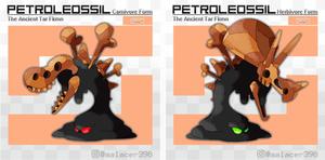 Petroleossil, the Ancient Tar Fakemon