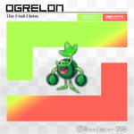 Ogrelon, the Fruit Fakemon