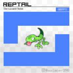 Reptail, the Lizard Fakemon
