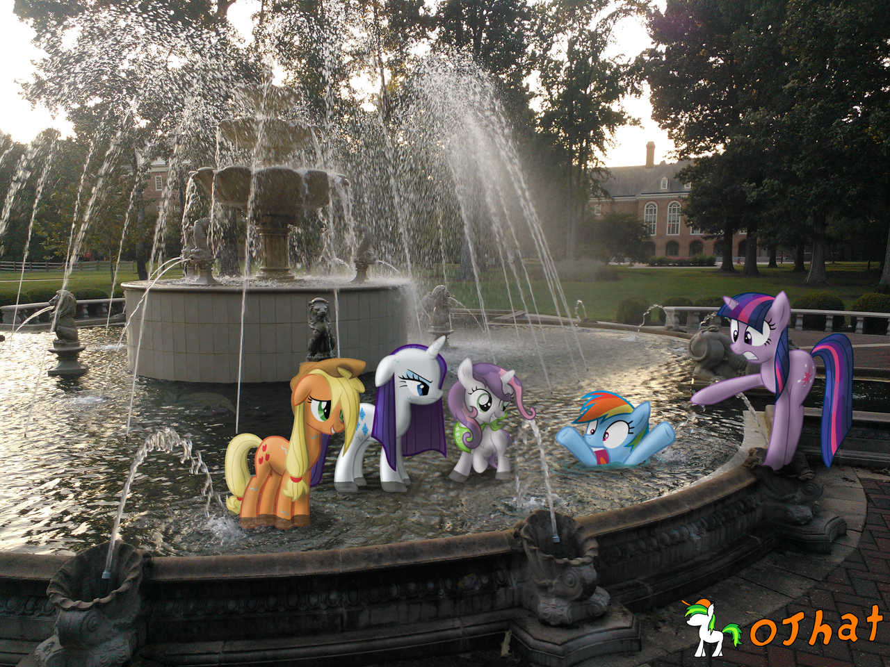 What is this I don't even GET OUT OF THE FOUNTAIN! by OJhat