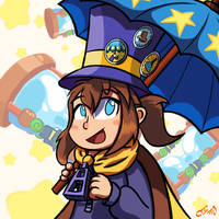 Happiness is Under an Umbrella in the Rain by OJhat