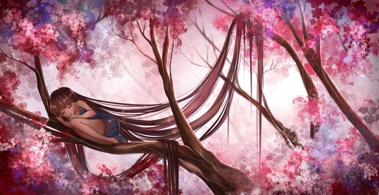 Cherry Fairy by Izunichi