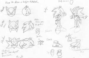 Easy Sonic-Shadow tutorial