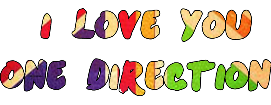 I love you one direction by ronniie on deviantart i love you one direction by ronniie voltagebd Choice Image