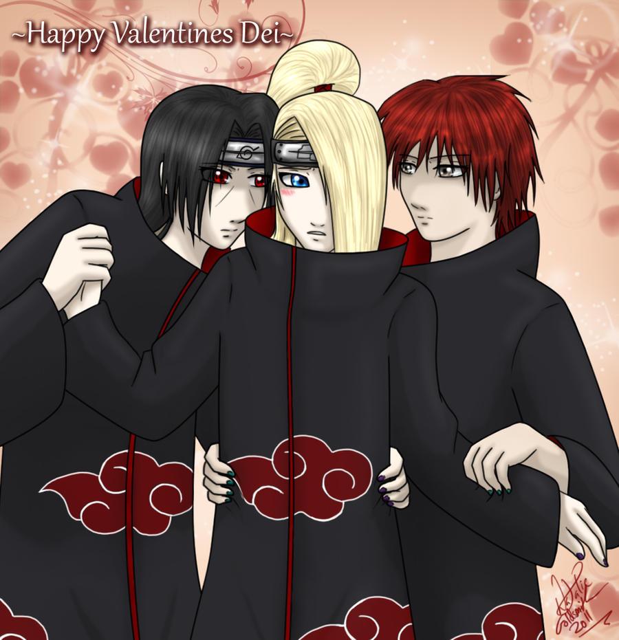 Happy Valentines Dei by YumeSamasLover