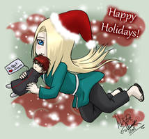 Happy Holidays from Dei by YumeSamasLover