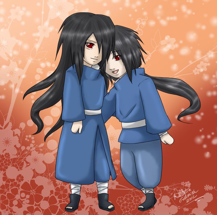 Madara and Izuna - Commission by YumeSamasLover