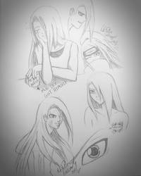 Deidara sketches by YumeSamasLover