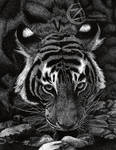Tiger Dots- Pointillism