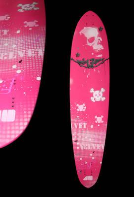velvet pink board