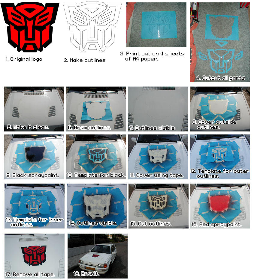 Autobot Logo On Car By Cyber D On Deviantart