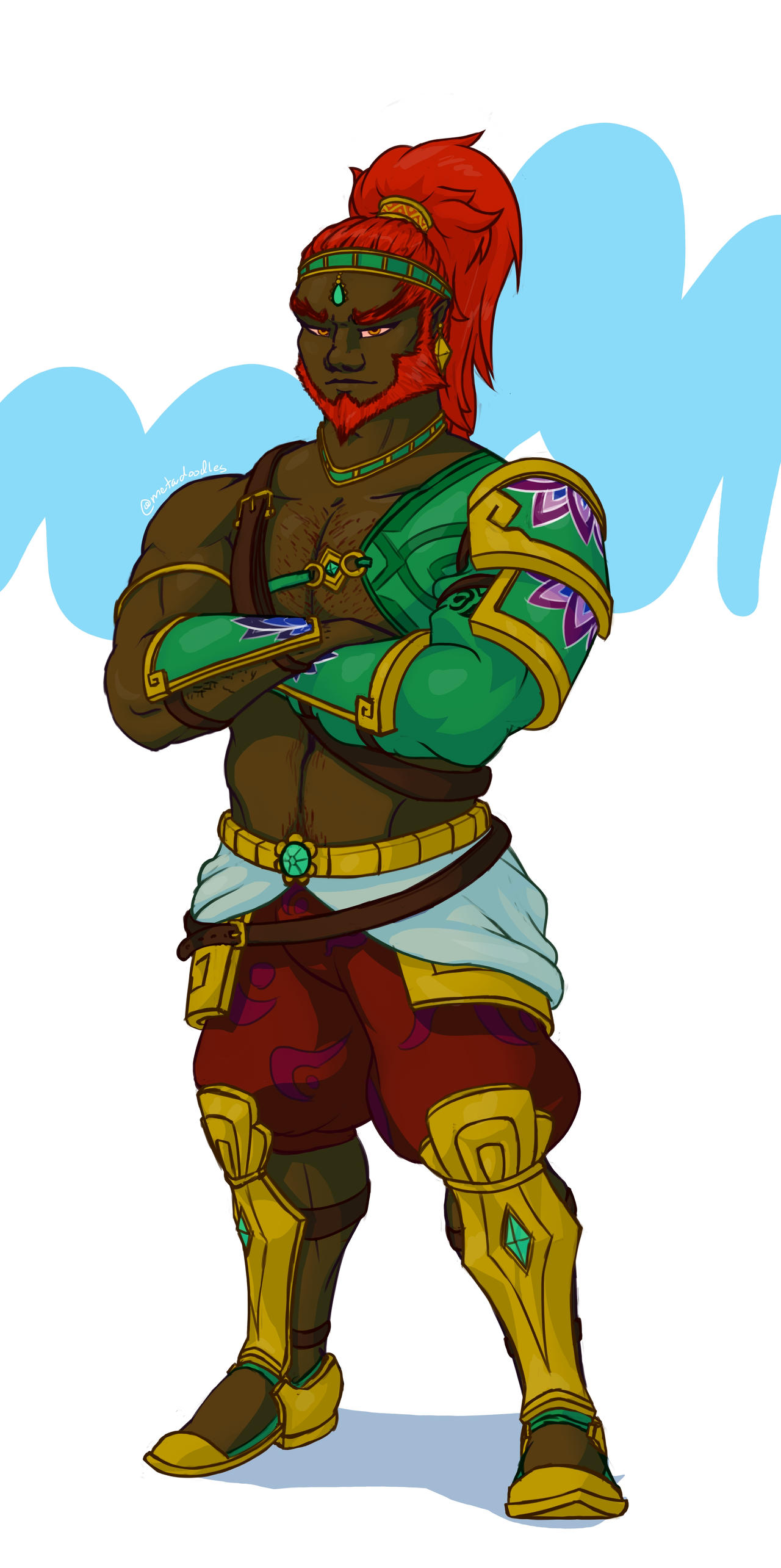 Botw Ganondorf By Vollgart On Deviantart