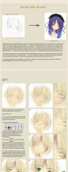 how to cg heads - my way :P by r4ikirie