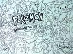 Pokemon Doodle by LostPrincessDream