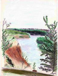 N. Saskatchewan River by bolsterstone