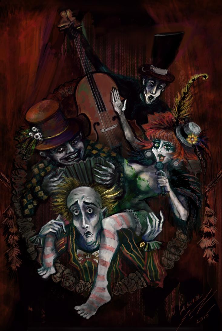 Russian Dark Cabaret Festival by tooniegirl