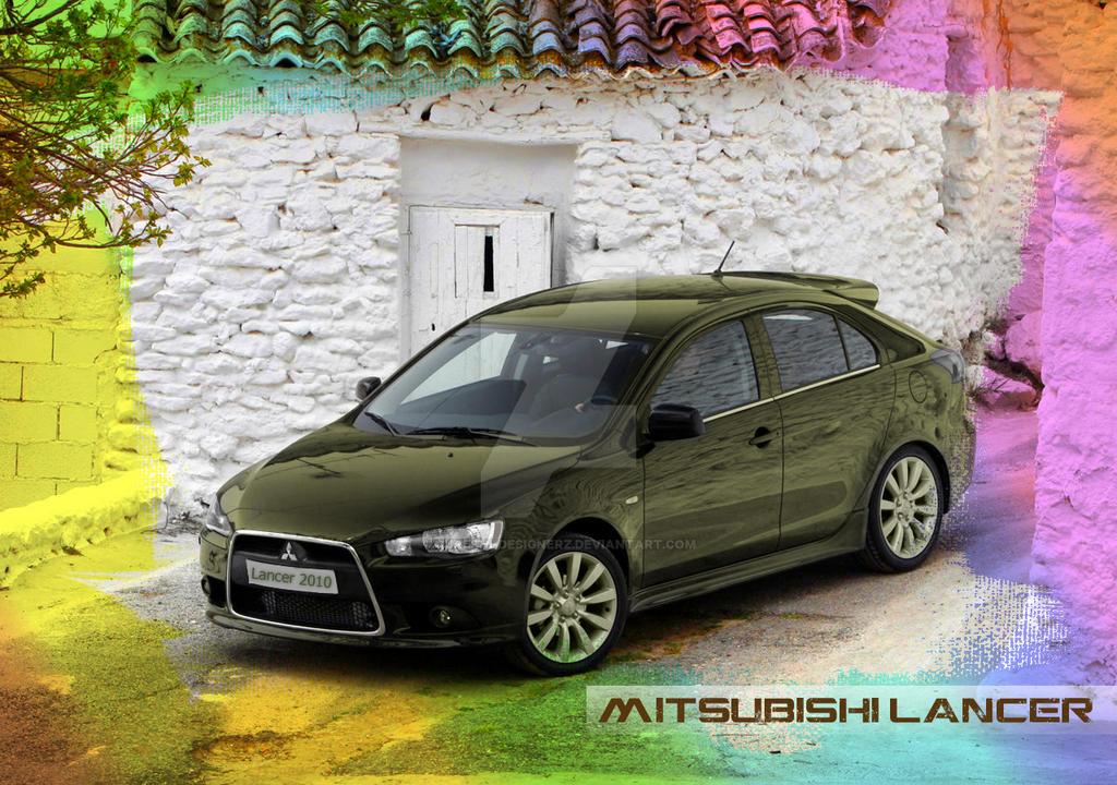 Mitsubishi Lancer Touch Up Paint