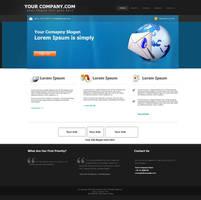 YourComany.com WebLayout 1 by Qureshi-Designerz