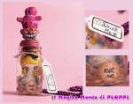 FIMO Alice in Jar Bottle