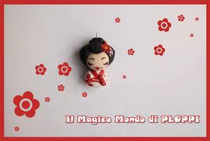 FIMO Geisha il Magico mondo di Ploppi by MagicoMondoDiPLOPPI