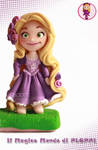 Tangled Rapunzel Fimo Clay by Ploppi