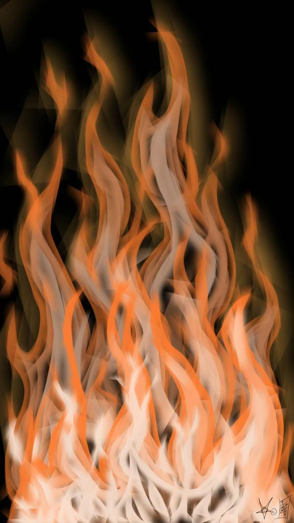 fire wallpaper  by LostHawK81