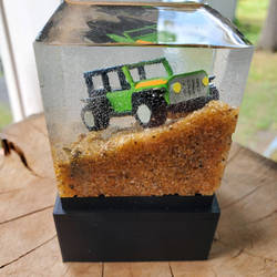 fathers day resin jeep by LostHawK81