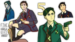 Five Hargreeves 2
